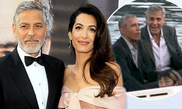 George Clooney 'had plumbing disaster ahead of Obamas arrival'