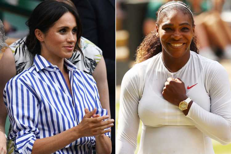 Meghan Markle expected to support pal Serena Williams at Wimbledon