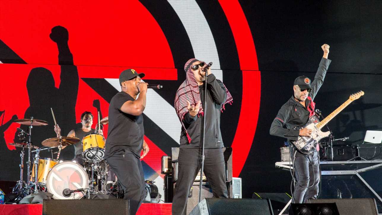 Hear Prophets of Rage's Fiery New Song 'Made With Hate'