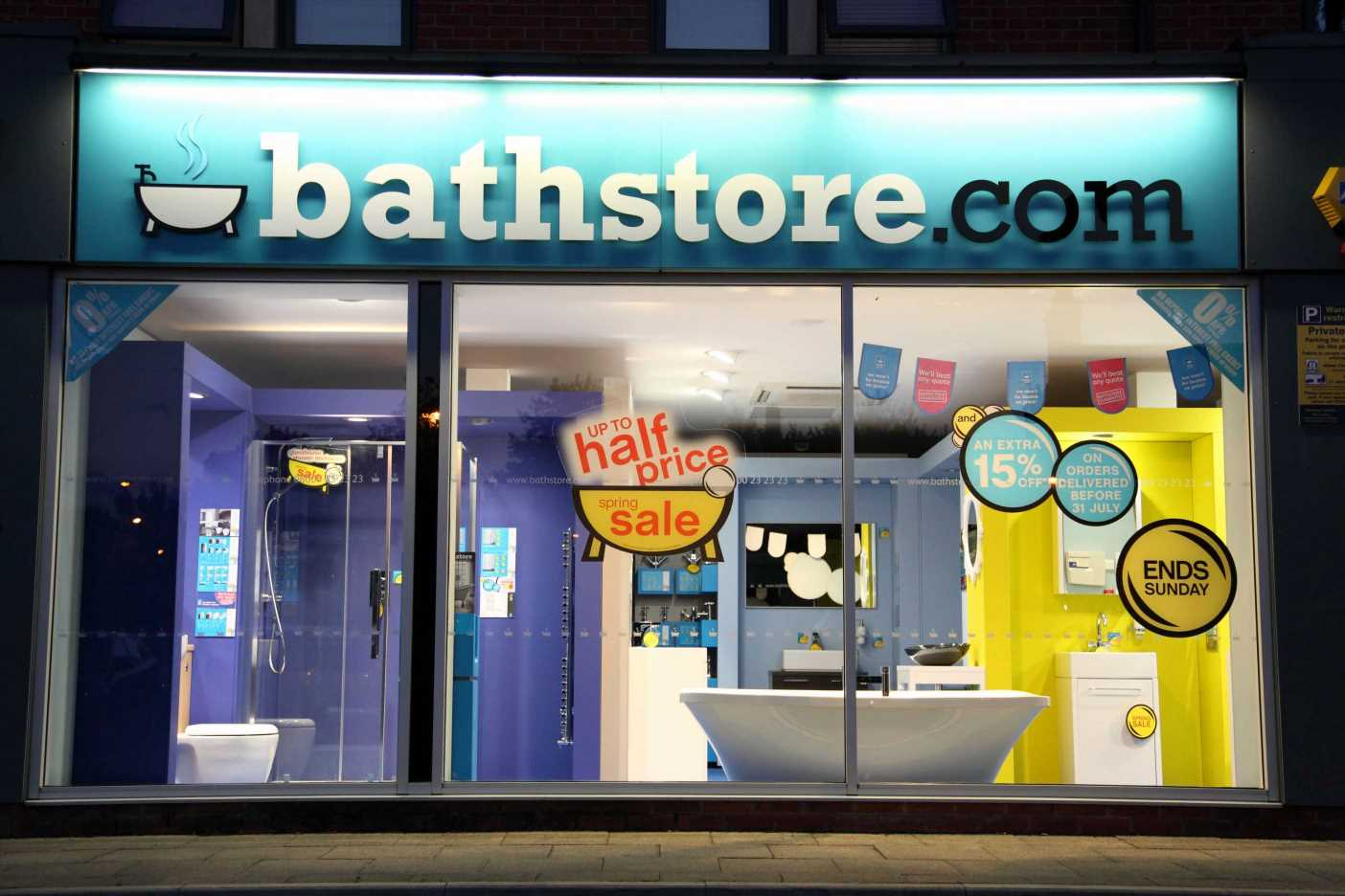 Bathstore refund and installation rights as the chain sinks into administration