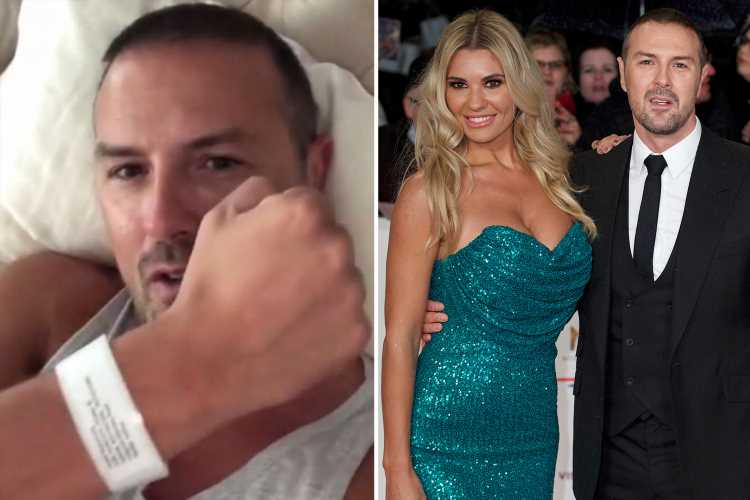 Paddy McGuinness reveals he's had a vasectomy – and goes into very graphic detail about the operation