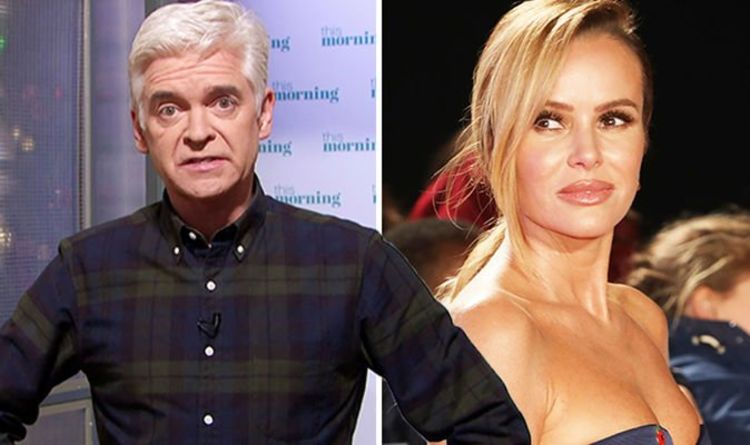 Amanda Holden 'let down' by Phillip Schofield after he 'blocked' her from This Morning gig