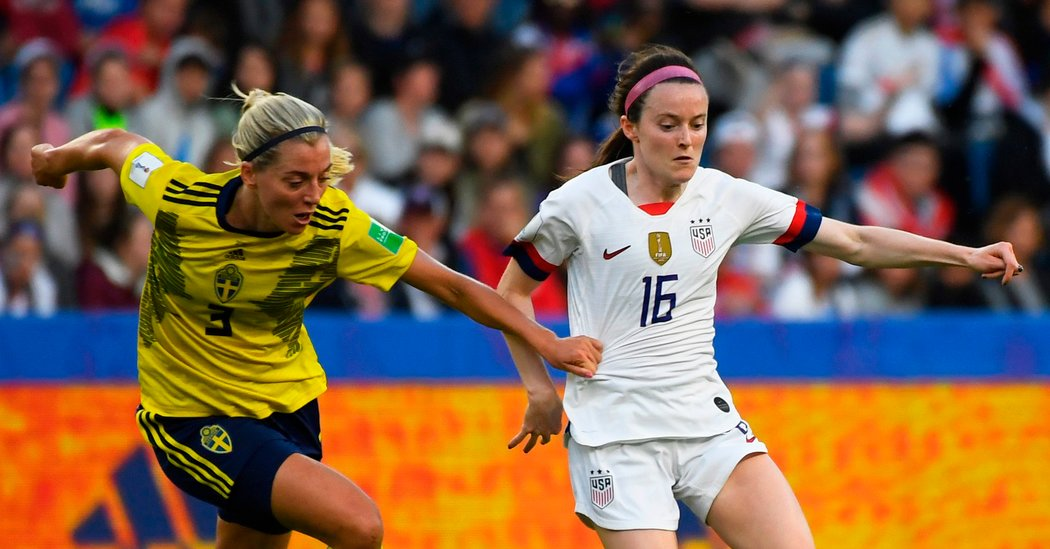 In First World Cup, Rose Lavelle Is Driving U.S. Forward