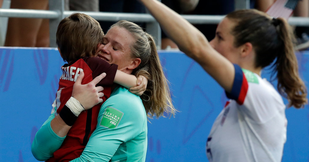 For U.S. Goalkeeper, a Moment to Forget and a Lesson She'll Remember