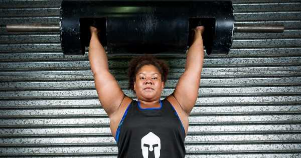 Mum who joined gym to lose weight ends up being crowned world's strongest woman