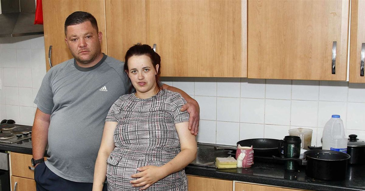 Family of six evicted from home for buying takeaways instead of paying rent