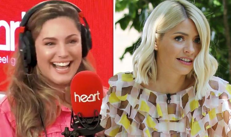 Holly Willoughby: This Morning host in 'kiss' bombshell with Kelly Brook 'Tried to snog'