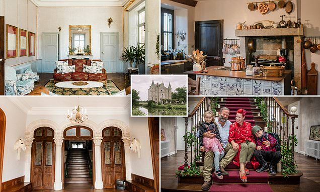 Dick and Angel in new show Escape to the Chateau: Living the Dream