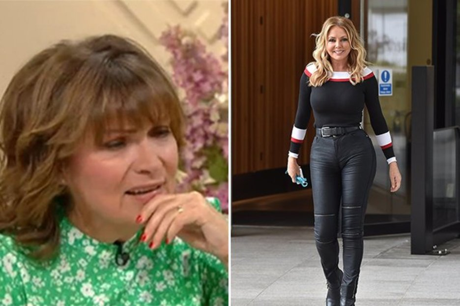 Carol Vorderman finally reveals truth behind mind-boggling curves amid bum lift conspiracy