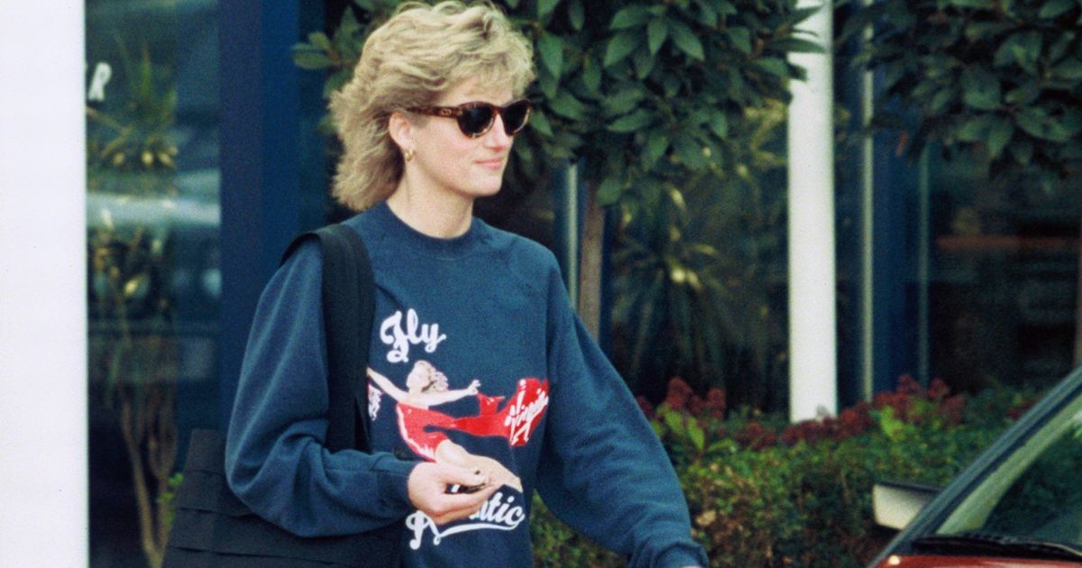 Princess Diana's gym jumper worn to every fitness class sells for incredible sum