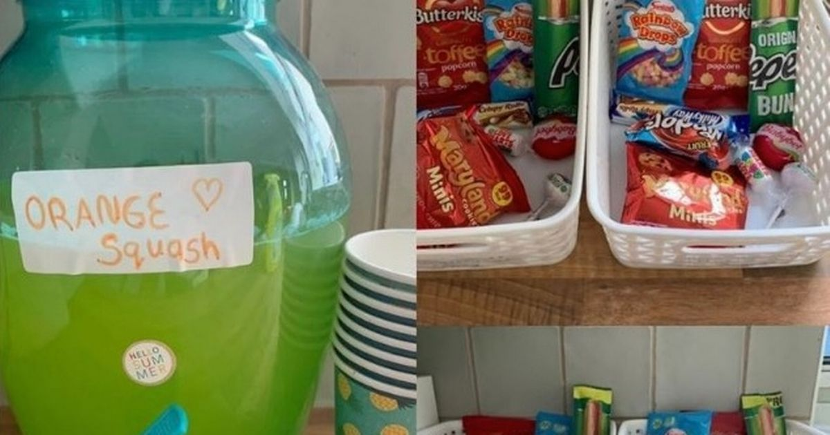 Mum accused of being lazy after sharing hack for school holiday snack baskets