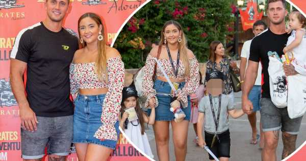 Jacqueline Jossa and Dan Osborne head on family day out after heading on holiday to Mallorca