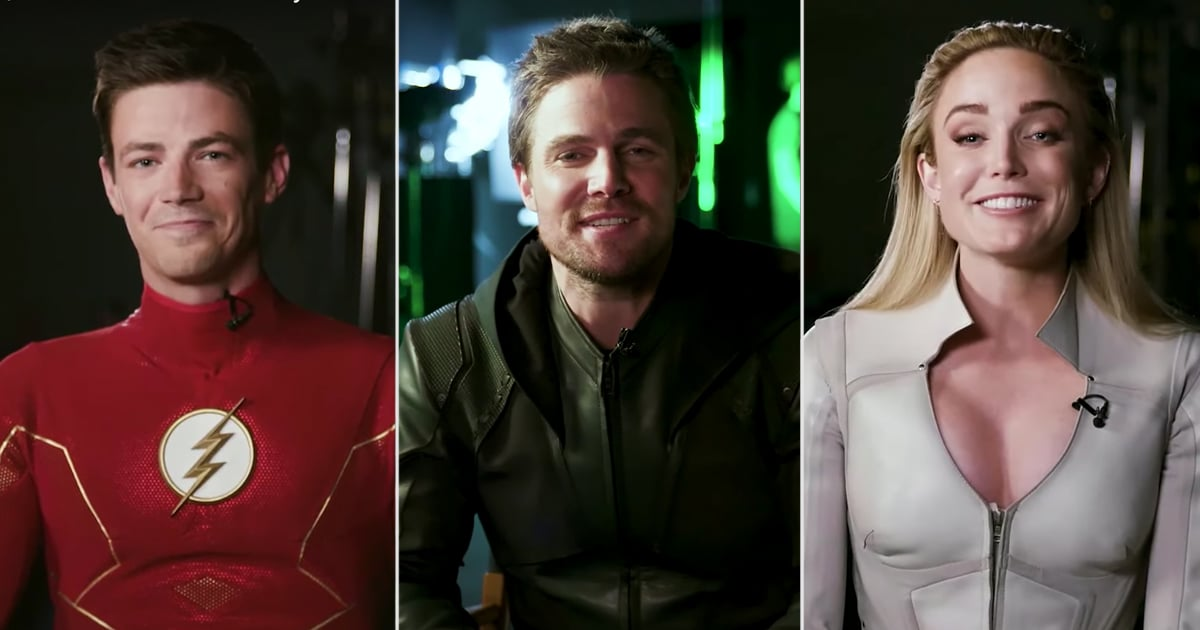 Try Not to Get Emotional Watching the Arrowverse Heroes Bid Farewell to Stephen Amell