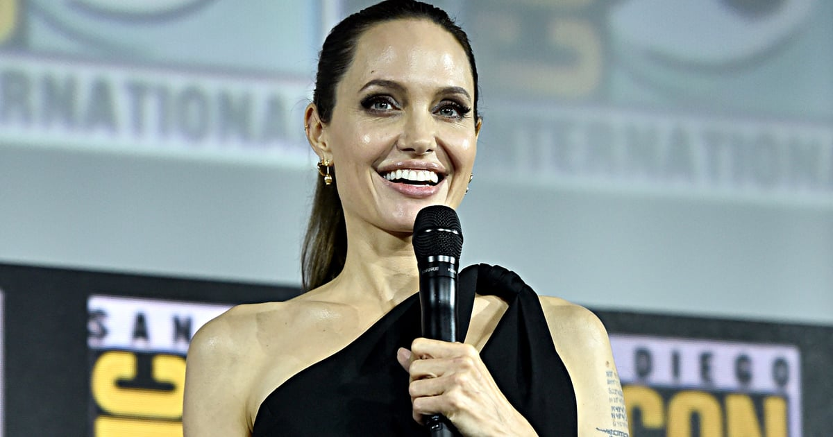 "Angelina Jolie Confirms Her Role in Marvel's The Eternals: ""I'm Going to Work 10 Times Harder"""