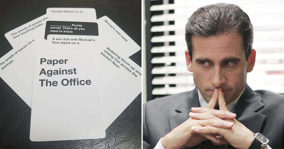 Someone Made The Office-Themed Cards Against Humanity Decks, and Oh My GOSH