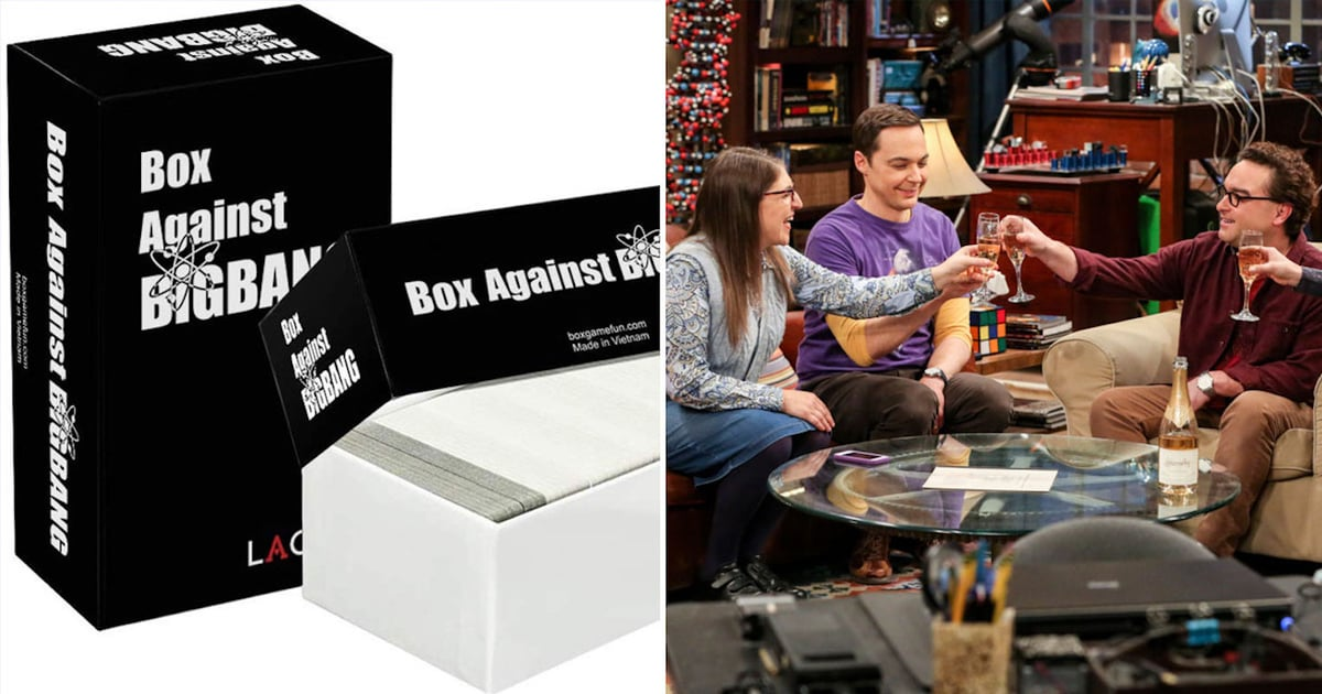 There's a Big Bang Theory-Themed Cards Against Humanity Deck, So See You at Game Night