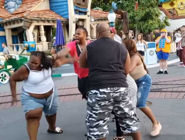 Disneyland Brawl Family Facing Serious Prison Time For Domestic Violence, Child Abuse