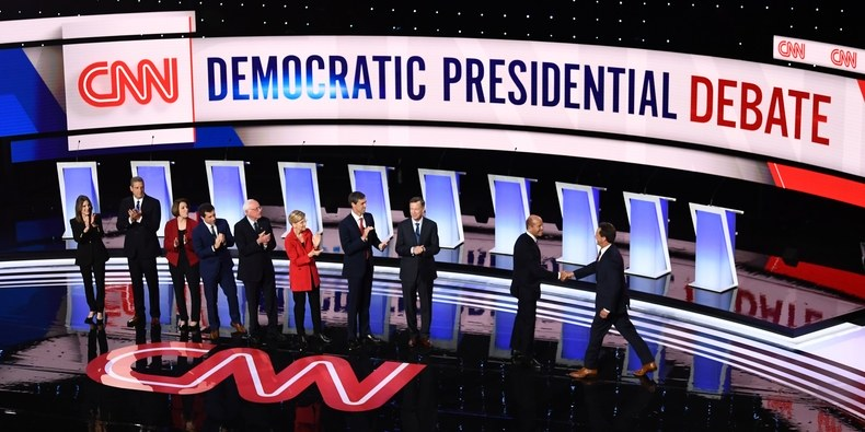Why Do Presidential Debate Stages Look Like Bad Game Shows?