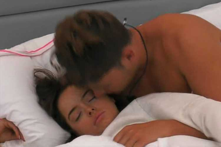 Fans spot Curtis has ditched coffee-making for 'morning snuggles' with Maura after 'early Love Island starts to avoid Amy'