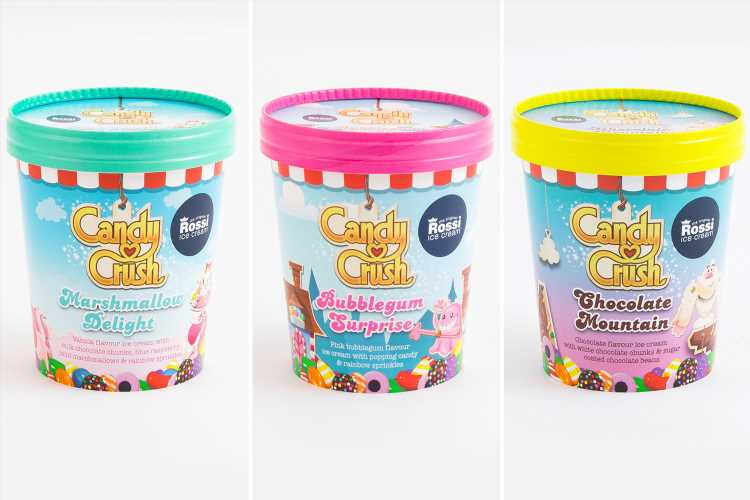 B&M is selling three new Candy Crush ice creams and they taste of bubblegum, marshmallow and chocolate – The Sun