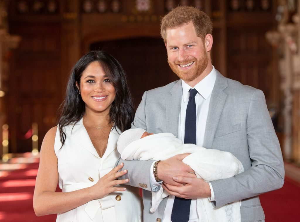 Revealed: All The Details About Archie Harrison's Christening
