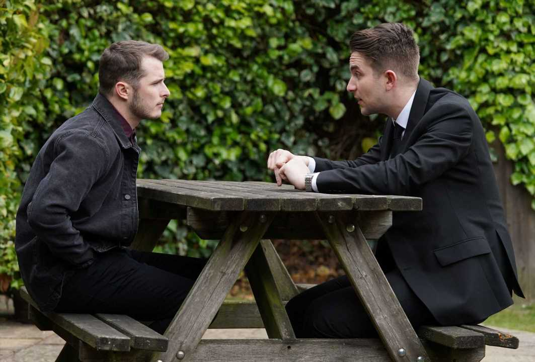 EastEnders spoilers: Ben Mitchell and Callum Highway kiss AGAIN and Stuart catches them in the act