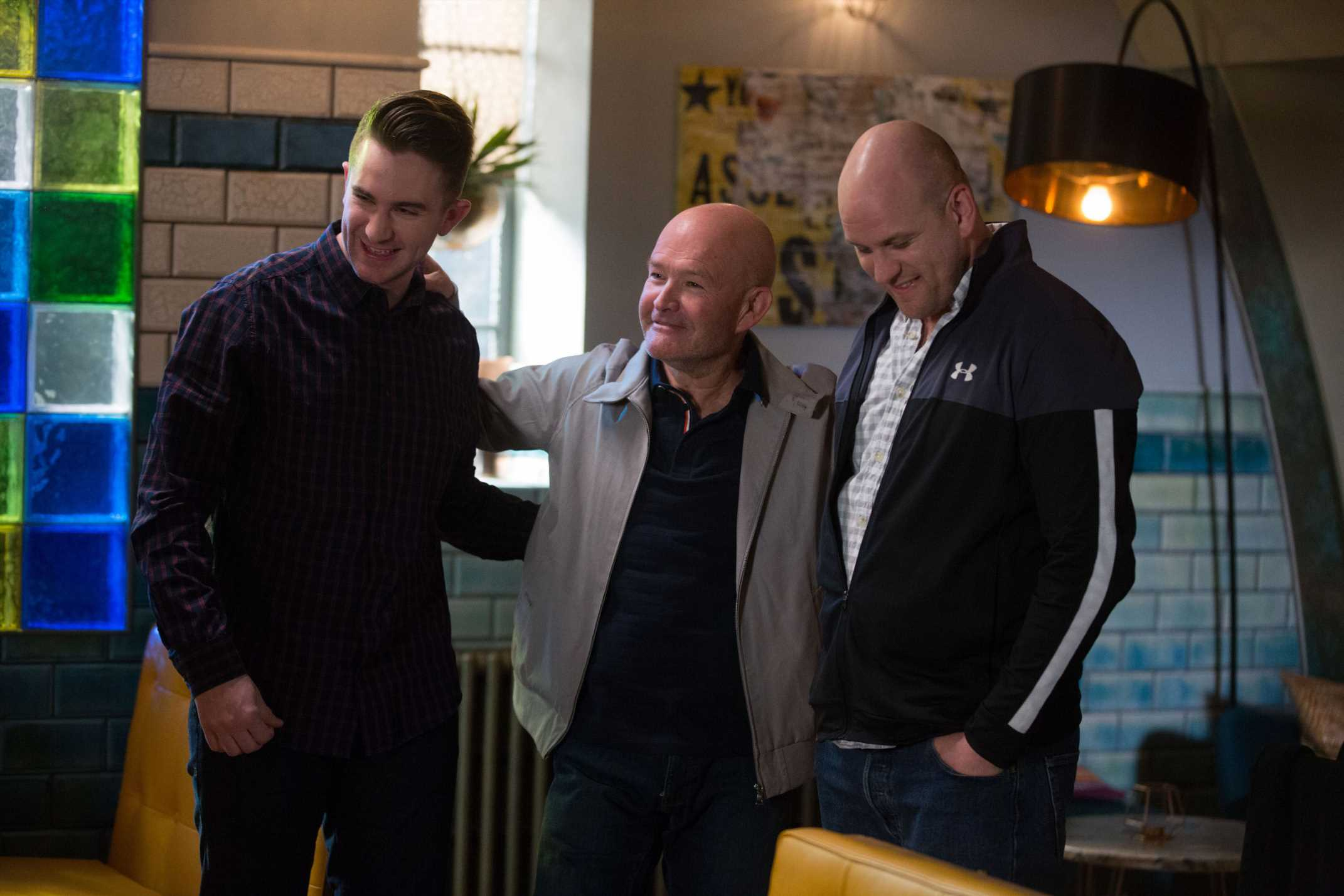 Who is Callum and Stuart Highway's dad Jonno in Eastenders? Richard Graham is the latest new face to join the BBC soap