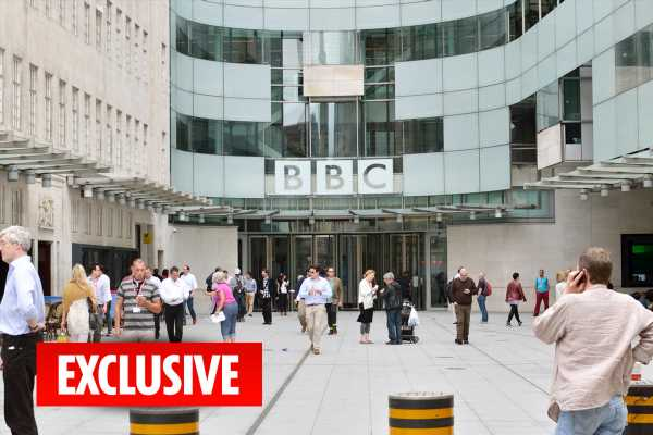 BBC bosses hand 1,100 staff a total of £7.7million in pay rises as OAPs are stripped of their free TV licence – The Sun