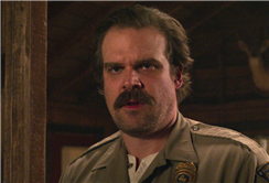 David Harbour Addresses 'Stranger Things 3' Credits Scene and What It Means for Hopper