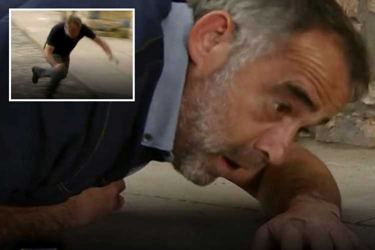 Coronation Street confirms Kevin Webster's dramatic fall WASN'T scripted but bosses kept actor Micheal LeVell's nasty accident in final cut