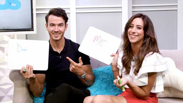 Kevin and Danielle Jonas Can't Remember Their Wedding Song: Watch!