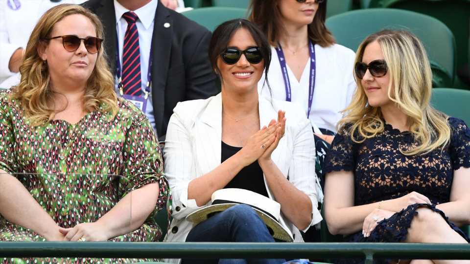 Meghan Markle Hits Wimbledon for Her First Solo Post-Baby Outing