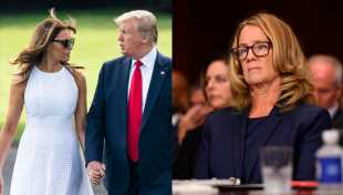 Melania Trump Told Donald Christine Blasey Ford Was 'Lying' At Kavanaugh Hearings Claims New Book