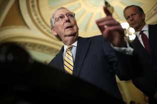 Mitch McConnell Said Labor Secretary Alex Acosta's Fate Is Up To Trump After The Jeffrey Epstein Revelations