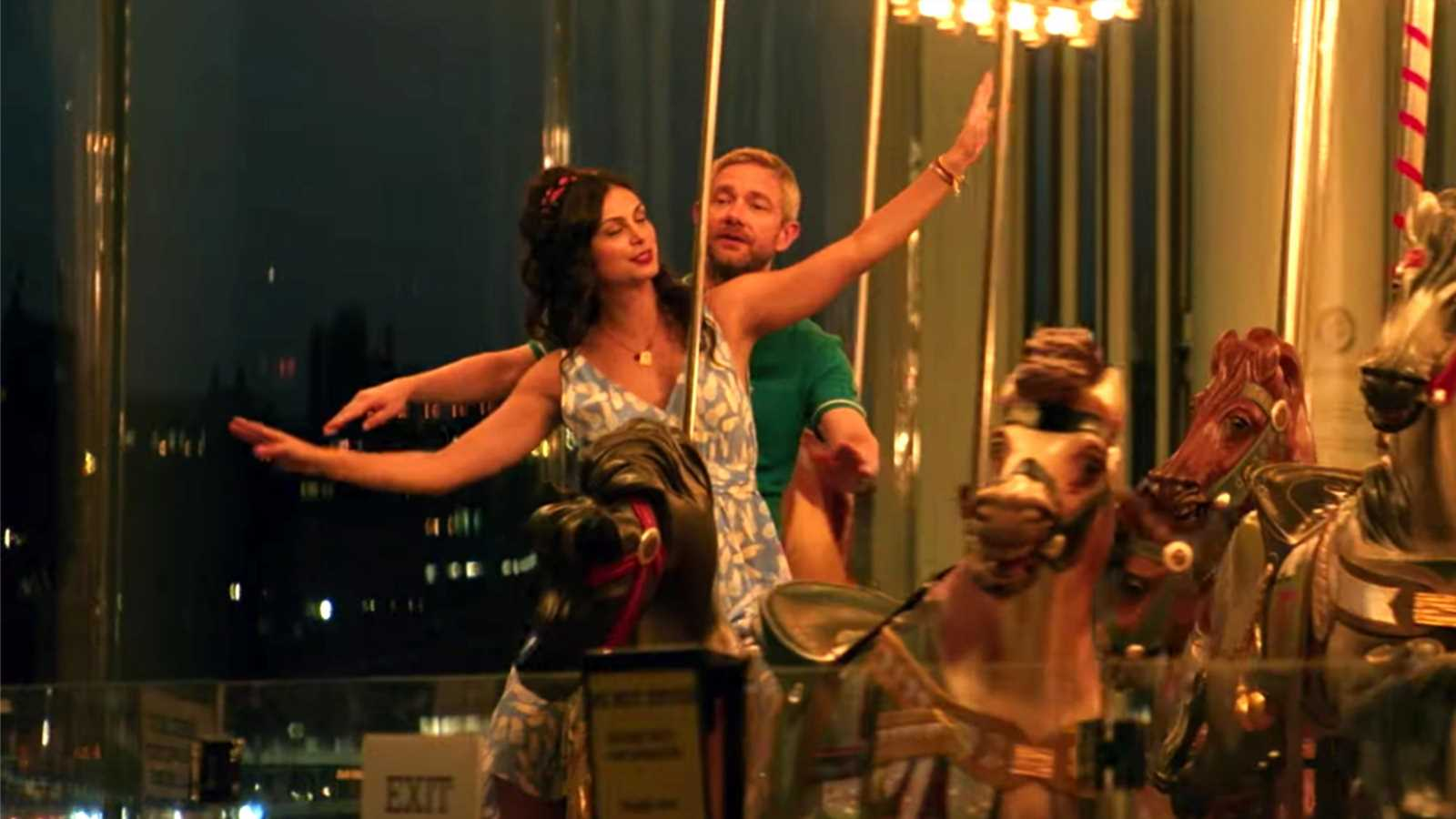 Martin Freeman, Morena Baccarin lead Ode to Joy trailer