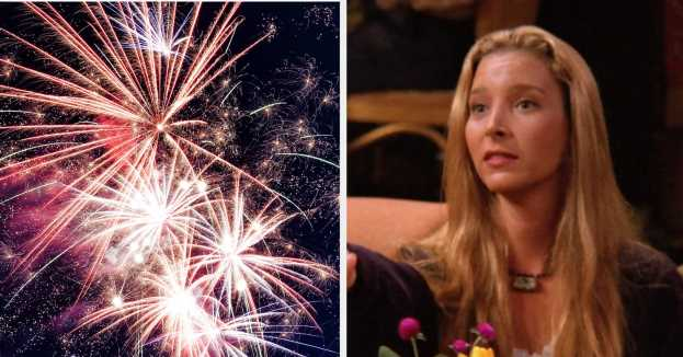 """Pick Your Favorite Fireworks And We'll Give You A """"Friends"""" Character To Spend The 4th Of July With"""