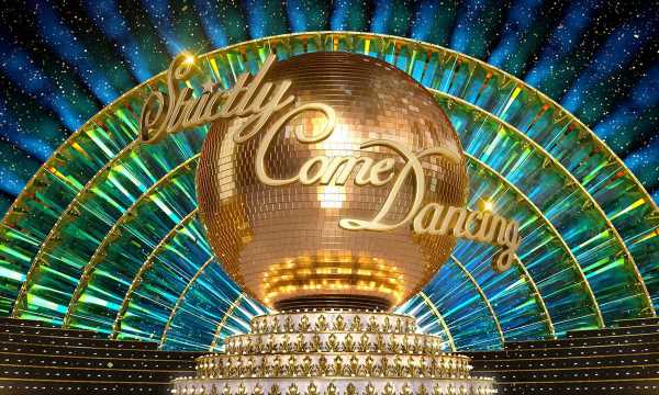 Are these the first three Strictly Come Dancing celebrities?