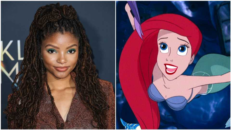 Disney Casts Halle Bailey in the New Little Mermaid, & the Internet Reacts