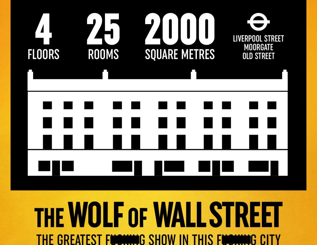 'The Wolf Of Wall Street' Immersive Theater Experience Reveals London Venue