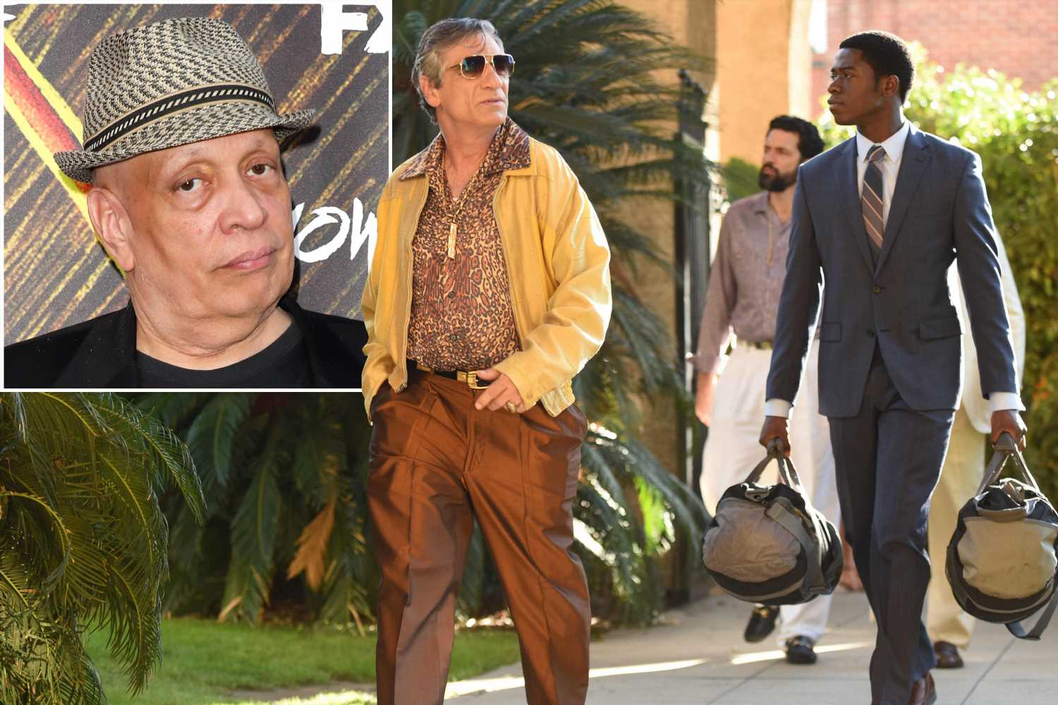 How Walter Mosley wound up writing about crack for 'Snowfall'