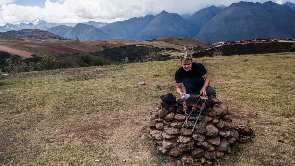 Gordon Ramsay shares culinary adventures around remote parts of the world