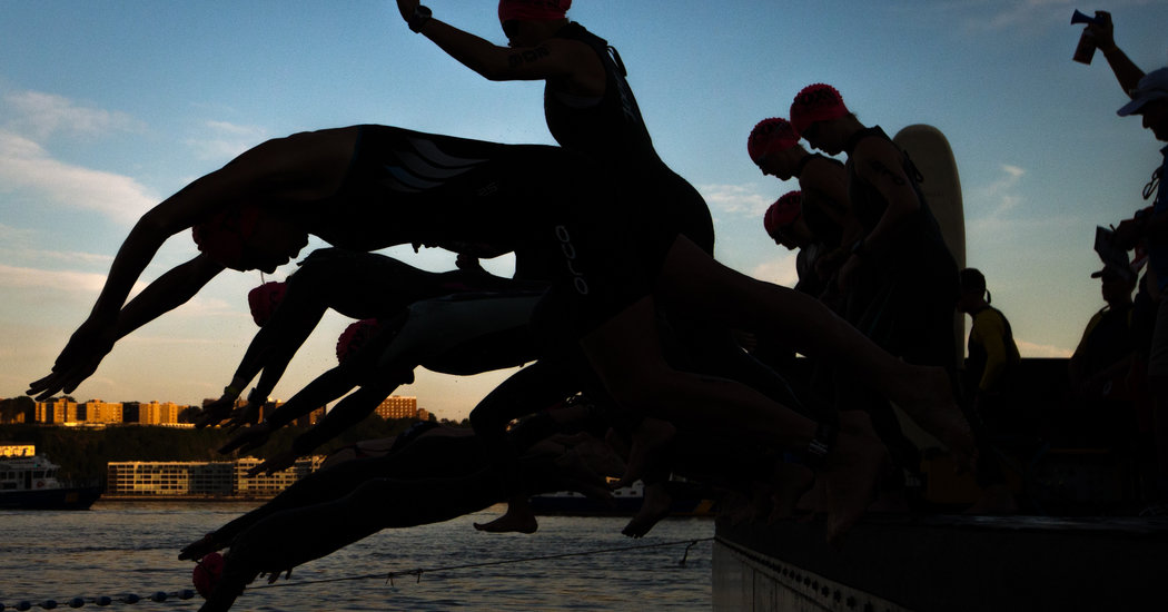 Triathlons Fight Decline and Seek Ways to Attract the Young