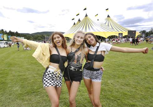 Festival fever is in full swing as fans flock to Longitude and Forever Young