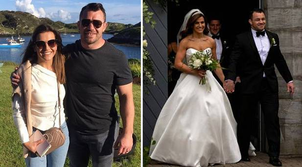 'I've spent most of married life in a hotel room with the Irish team', says newlywed Cian Healy