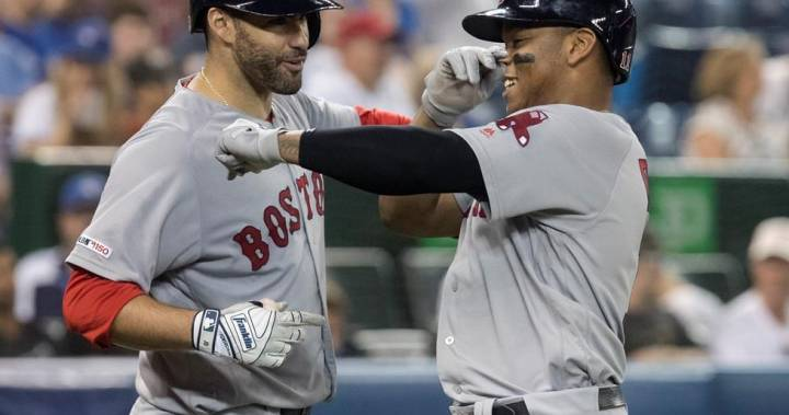 Rafael Devers, Red Sox beat Blue Jays 10-6