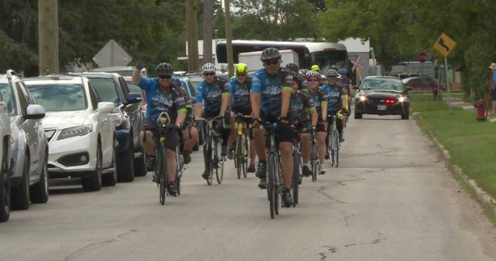 26th annual Cycle of Hope comes to celebratory finish in Winnipeg