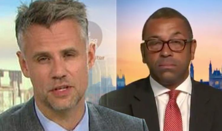 ITV Good Morning Britain: 'Stop!' Richard Bacon slammed for heated James Cleverly debate