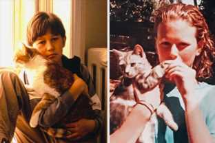 15 Photos Of Celebrities Celebrating #InternationalCatDay In The Cutest Ways Possible