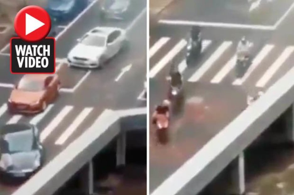 Optical illusion showing vehicles disappearing baffles the internet – so what's going on?