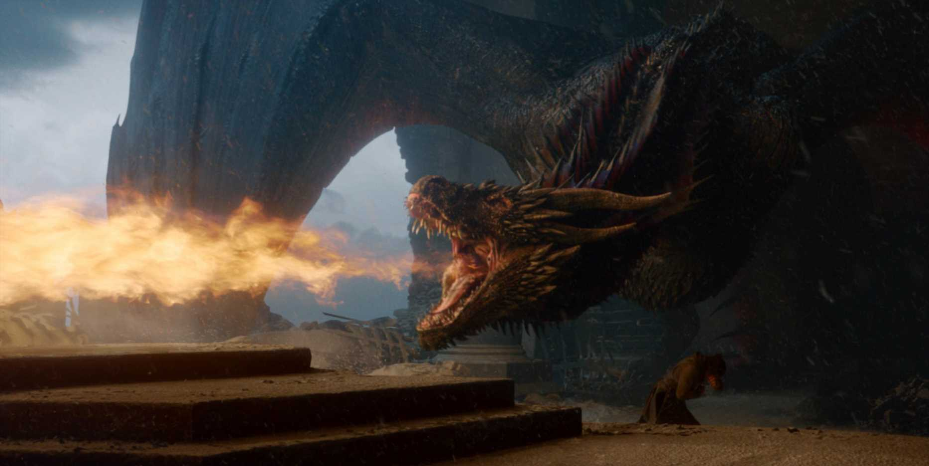 The Game of Thrones Finale Script Reveals Why Drogon Burned the Iron Throne Down